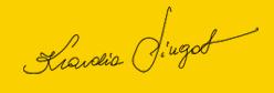 podpis zolty
